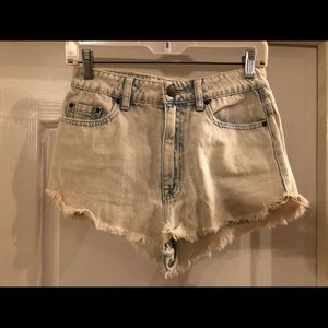 BDG Acid Wash High Waisted Shorts
